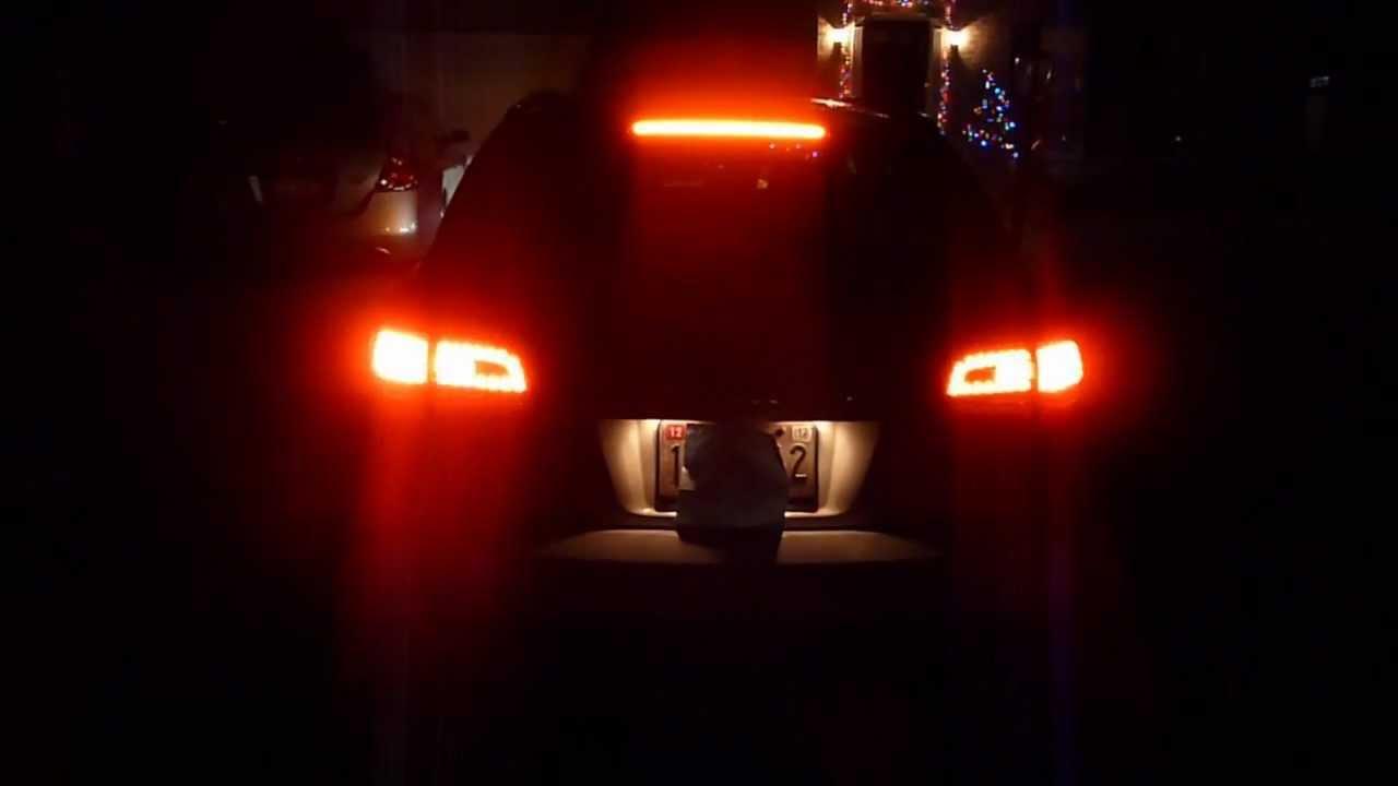 Audi A6 Avant Led Taillights Youtube