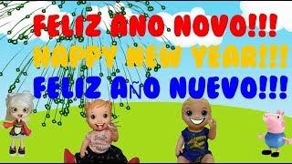 Feliz Ano Novo!!! Feliz 2019!!! Happy New Year!!! Feliz Año Nuevo!!! Vida de Leleca