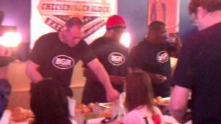 BGR The Burger Joint Cheeseburger Slider Eating Contest (Bethesda, MD)
