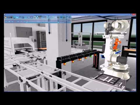 Digital Factory: 3D simulation