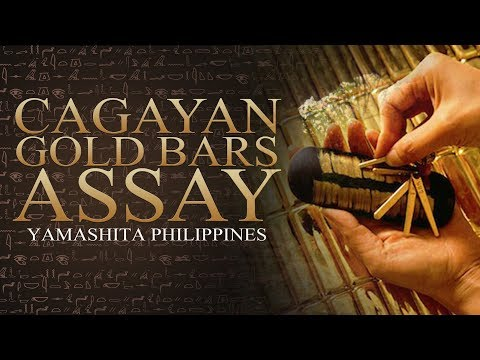Yamashita Philippines - Cagayan De Oro Gold Bars Assay