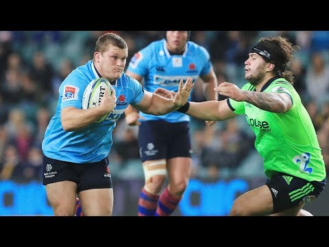 ROUND 14 HIGHLIGHTS: Waratahs v Highlanders - 2018