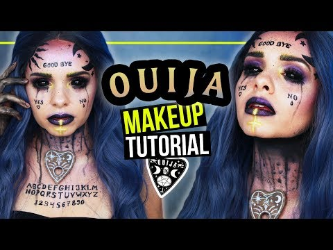 OUIJA BOARD Halloween Makeup Tutorial 👻 – #spooktober