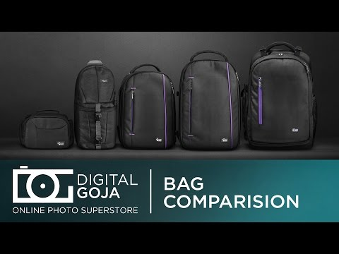 Camera Backpack and Bag Series | (Size, Functions and Fit) Comparison Video By Altura Photo®