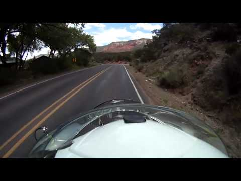 New Mexico road 4 to Jemez Springs part 1