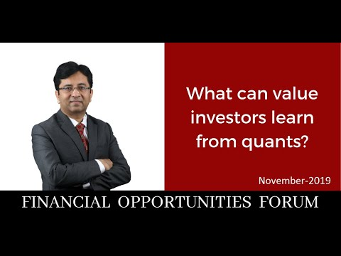 What Can Value Investors Learn From Quants?