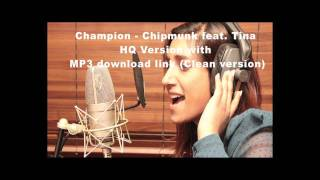 Champion - Chipmunk feat. Tina Daheley HQ Clean Version (Radio 1 Chris Moyles Show)