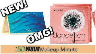 Makeup Minute | EXCITING New Releases! TARTE Skin Twinkle Lighting + BENEFT Dandelion Twinkle!