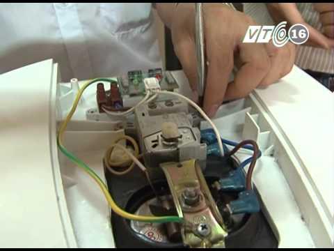 CT Dạy Nghề trên VTC 16 - Kỹ thuật sửa chữa bình nóng lạnh
