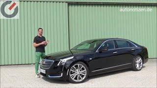 Cadillac CT6 Platinum 2018 Review, Test, Fahrbericht