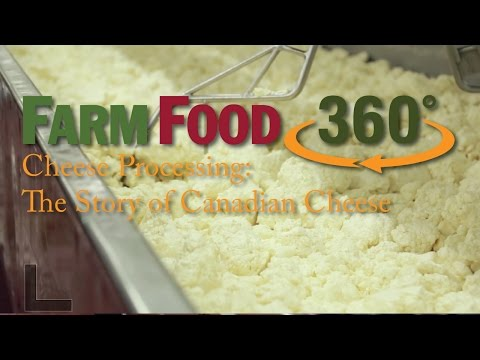 Cheese Processing: The Story of Canadian Cheese