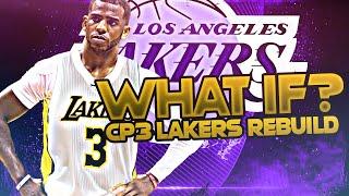 2011 CHRIS PAUL LAKERS REBUILD! (NBA 2K20)
