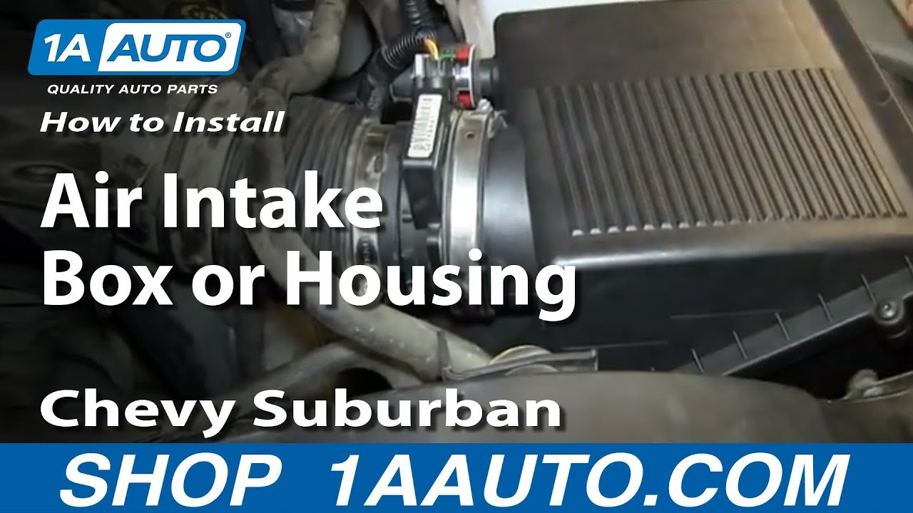 how to replace air filter housing 99 02 chevy silverado youtubehow to replace air filter housing 99 02 chevy silverado