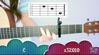 """We Can't Stop"" - Miley Cyrus EASY Guitar Tutorial/Chords"