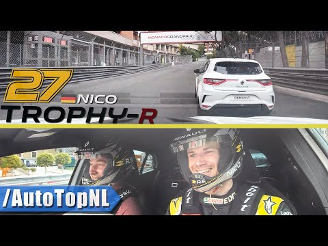 MEGANE RS TROPHY R on MONACO GP Track w/ Nico Hülkenberg by AutoTopNL