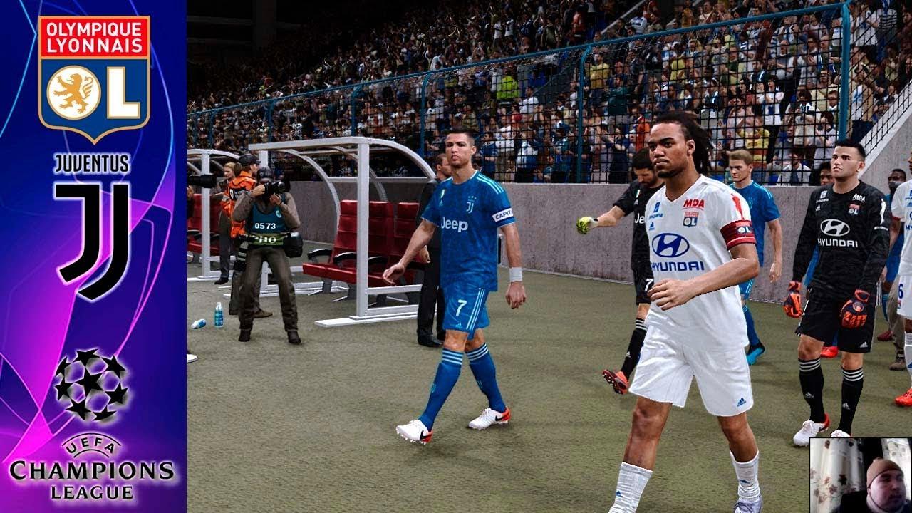 Pes 2020 Lyon Vs Juventus Uefa Champions League 1 8