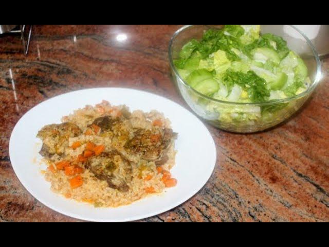 Агнешко с ориз, супер вкусно
