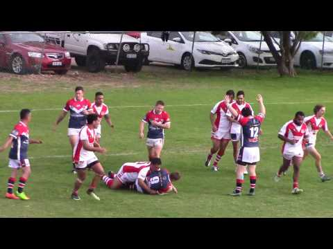 Fremantle Roosters v South Perth Lions Val Murphy Trophy 10 June 2017