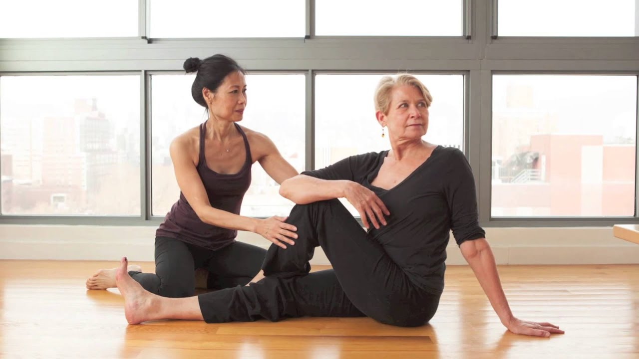 Private Yoga Lessons with Karen Yat - YouTube
