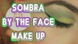 Probando sombra de By The Face Make Up
