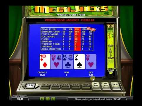 Игровой автомат Mega Jack Video Poker