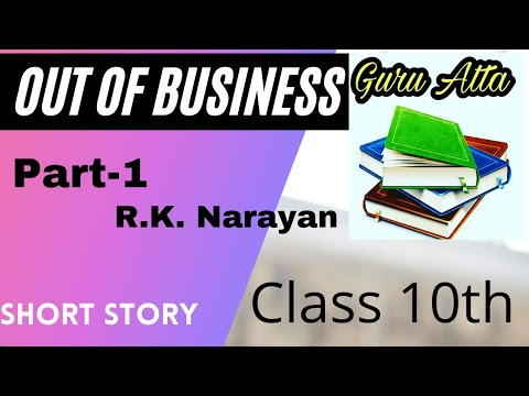 Out Of Business Part-1 | Class 10th | Short Story |