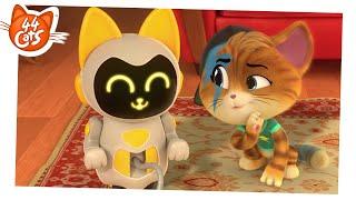 44 Cats   Season 2 - AIDA, the robot cat [CLIP]