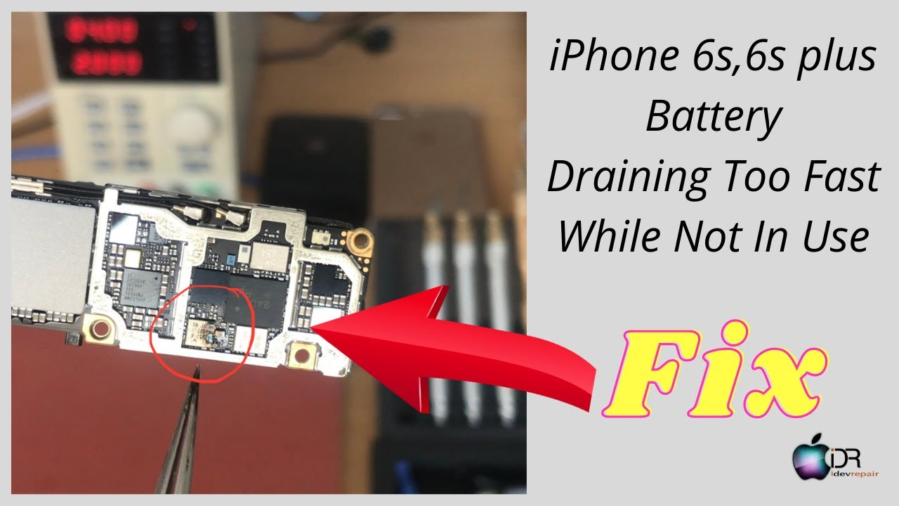 How To Fix Iphone 6s Battery Draining Too Fast Easy Solution Youtube