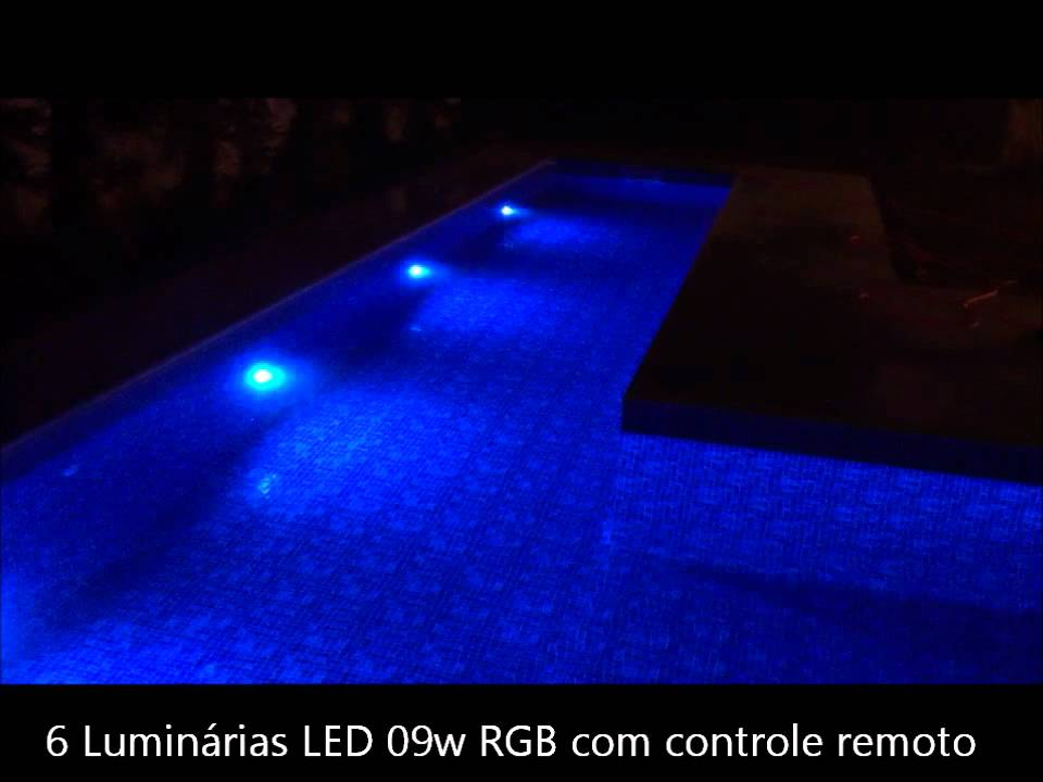 Lumin ria led piscina youtube for Luminarias para piscinas