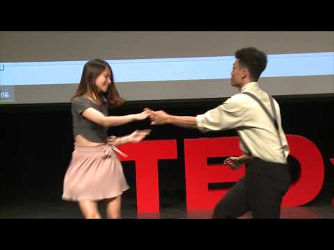 Lindy Hop - Follow to lead | Swing Dance Hanoi | TEDxHanoi