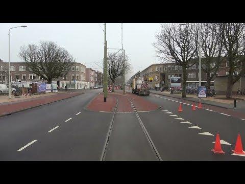 HTM tramlijn 6 (Den Haag) Leyenburg - Leidschendam Noord | GTL8 3086 | 2017