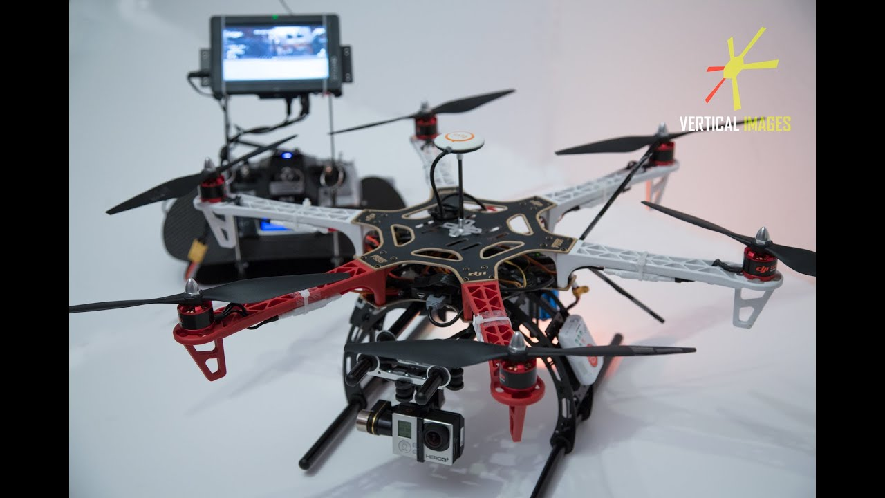 Timelaps Building Dji Flame Wheel F550 With Naza And