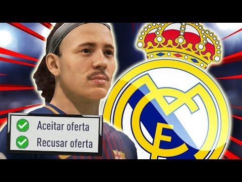RECEBI PROPOSTA DO REAL MADRID!   FIFA 18 Modo Carreira Jogador #44 - Barcelona
