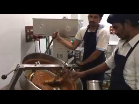 Chikki Making using Commercial Induction Machine