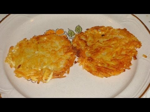 Crispy Resturant Style Hash Browns Recipe - YouTube