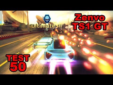 Asphalt 8 – R&D Zenvo TS1 GT (Test 50 – Ultimate AI)