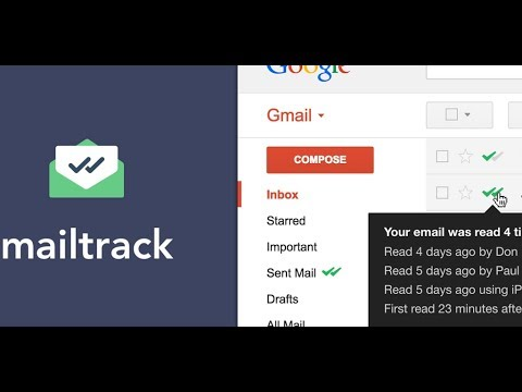 How to Track Sent Emails using mailtrack