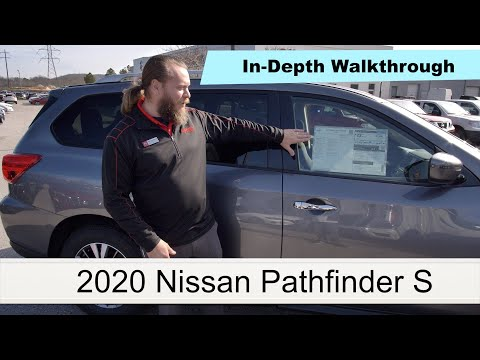 Review Of The 2020 Nissan Pathfinder S  Full In-Depth Walkaround