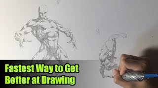 Fastest Way to Get Better at Drawing (Figure Drawing Practice)