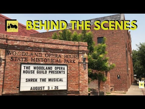 Shrek the Musical at the Historic Woodland Opera House | Behind-the-scenes with Lord Farquaad