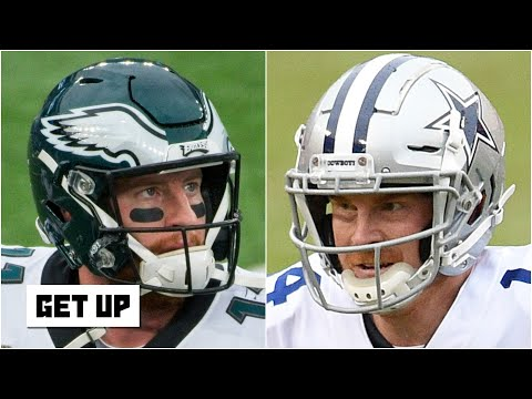 Eagles or Cowboys: Who will win the NFC East?  Get Up