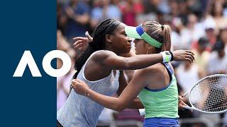 Coco Gauff vs Sofia Kenin - Extended Highlights (R4)   Australian Open 2020