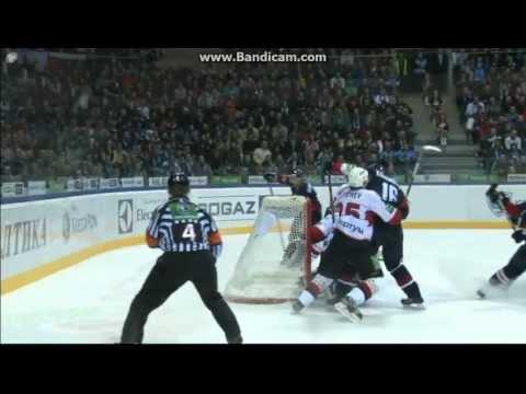 Roman Kukumberg Goal OT 4:3 Slovan vs Traktor (HD)  Слован vs Трактор