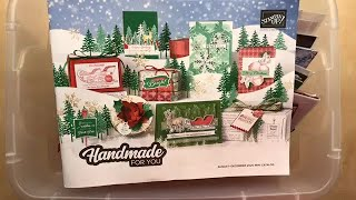 16 Projects + Stampin' Up! Aug-Dec 2020 Mini Catalog Unboxing Sneak Peeks