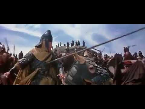 Сражение римлян с парфянами. Эпизод фильма