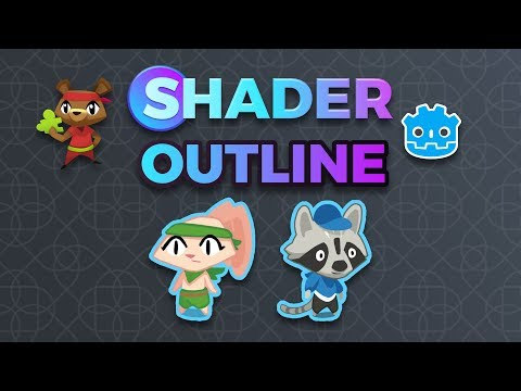 Outline Shader in Godot (tutorial)