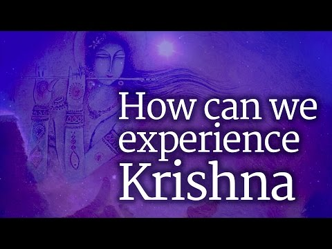 How Can We Experience Krishna? - Sadhguru