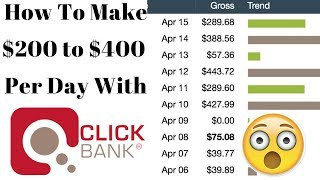 Clickbank for Beginners - How To Make $200 to $400 Per Day With Clickbank 2018