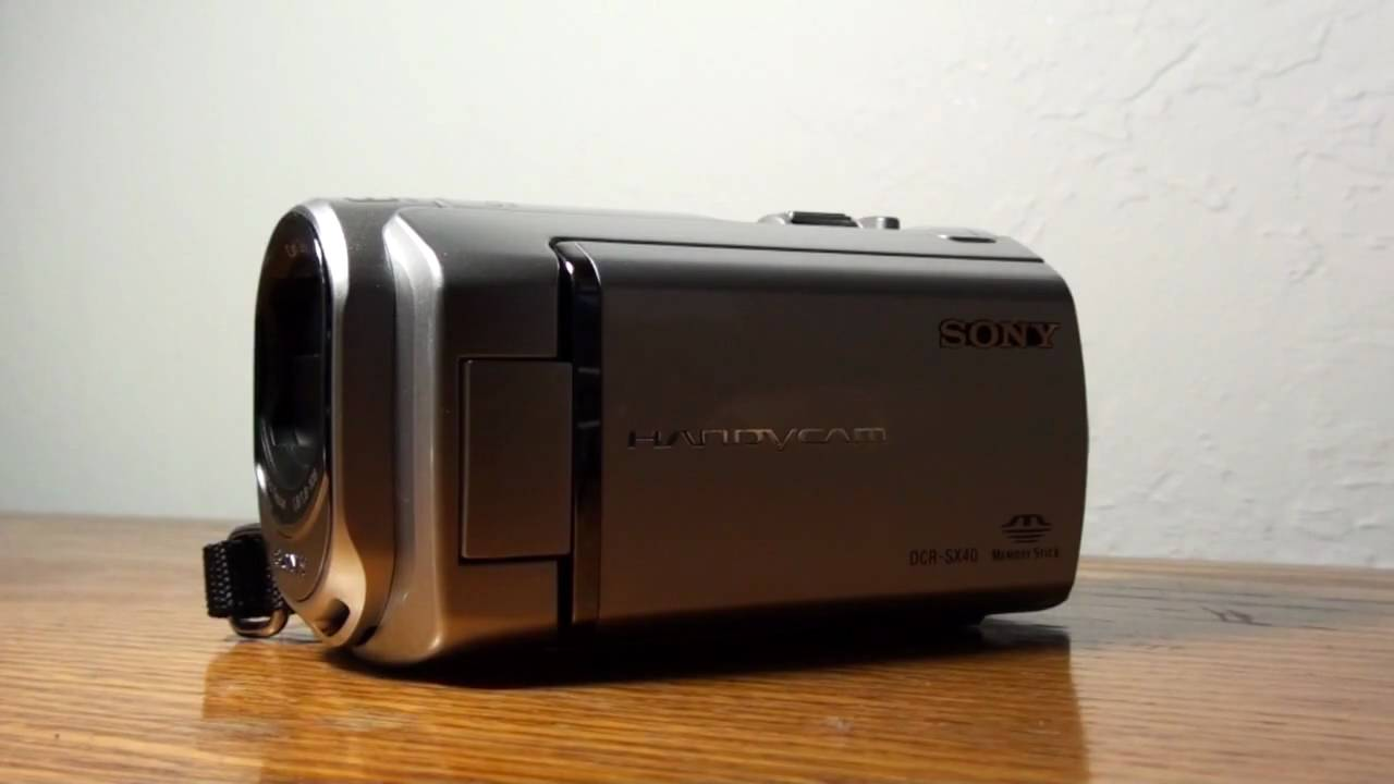 sony dcr sx40 review youtube rh youtube com sony handycam dcr-sx40 user manual Sony Handycam 8Mm Cassette