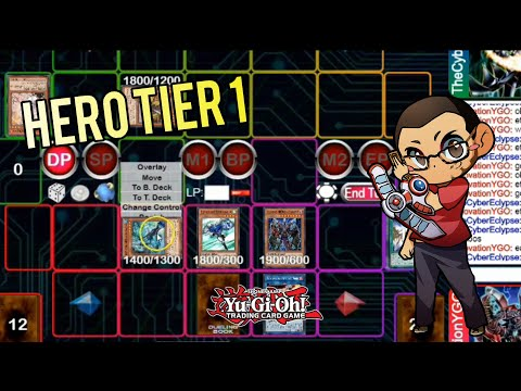 Yu-Gi-Oh! Savaging Online With Heroes (Stream Highlights) - Master Rule 5